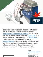 Sistema de Inyección de Combustible