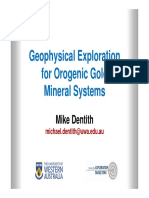 geophysical exploration for orogenic gold systems