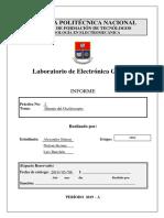 Informe Laboratorio de Electronica