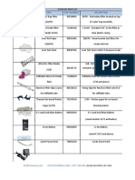 Ecom En2 Parts List