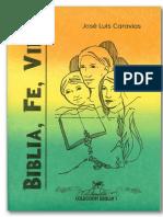 Biblia, Fe y Vida - José Luis Caravías