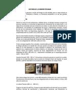 Historia de La Minería Peruana