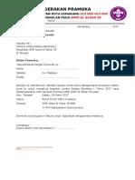 1. Surat Tugas Lomba Pramuka Galang Gemilang
