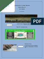 Contaminación  y Cambio Climático.docx