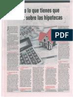 Todo Lo Que Debes Saber Sobre Las Hipotecas - Autor José María Pacori Cari