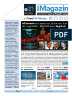 Free21-Magazin August 2018