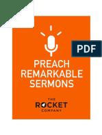 Preach Remarkable Sermons e Book