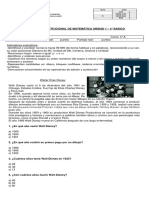 EV INST UNID1 MATEMATICA 4° + ind evl