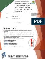 """DISEÑO E IMPLEMENTACION DE UN SISTEMA CONTABLE PARA EL TALLER DE CARROCERIAS """"RODRIGUEZ""""DE LA CIUDAD DE QUILLACOLLO"""