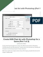 Pixel 8-Bit Graphic Tutorial