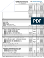 LOTHAR WALTHER Precision. Tool Inc Price list 2017