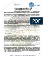 2. Protocolo de Apitoxina Para Inmunoterapia Como Alergeno.