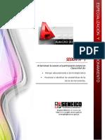 AutoCAD 2D - Sesión 1