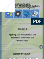 Applying Accounting Policies and Procedures for Revenue and Other Receipts