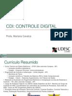 Controle Digital Aula 1