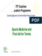 First Aid for Tennis