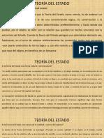 Clases II-2019 Teoría Del Estado