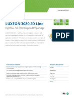 DS207 Luxeon 3030 2d Datasheet