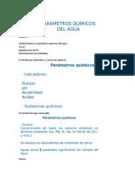 CLASES CÁLCULOS CALIDAD DE AGUAS UMNG