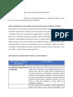 FORO CASO PRACTICO Ética Empresarial y Responsabilidad Social