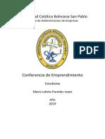 conferencias MJPR