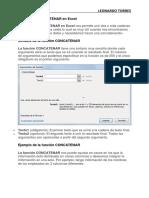 La Función de Microsoft Excel