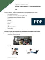 Actividades de evaluación, Tema 1