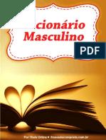 dicionario masculino