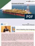 Economia Do Petróleo - UCAN