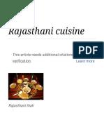 Rajasthani Cuisine - Wikipedia