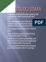 Ppt.mikrobiologi Udara