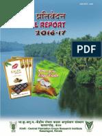 CPCRI Annual Report 2016-17