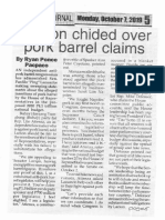 Peoples Journal, Oct. 7, 2019, Lacson chided over pork barrel claims.pdf