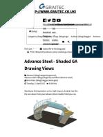 Advance Steel - Shaded GA Drawing Views - Graitec Blog