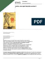 Aldo Icardi e Innocente Una Spia Fascista Uccise Il Maggiore Holohan