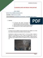 Reporte Nro 13 Junta de Piezas
