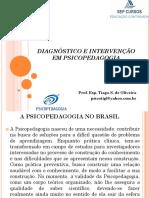 Slide - DIAGNÓSTICO E INTERVENÇÃO EM PSICOPEDAGOGIA PARTE 1.pptx
