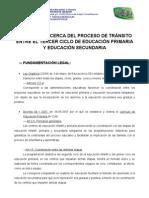 propuesta coordinación etapas 2010