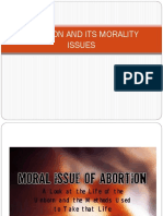 Abortion and Its Morality Issues