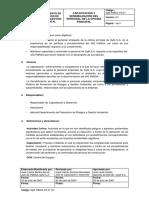 CAPACITACIÓN Y SENSIBILIZACIÓN DEL PERSONAL DE LA OFICINA PRINCIPAL
