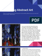 dana- analyzing abstract art
