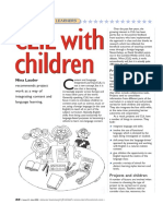 CLIL With Children & Suggetions on Introducing CLIL