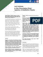 How Clinicians Use Prescription Drug Monitoring Programs