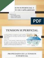 tension superficial y capilaridad