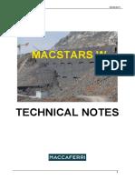 Macstars-w Technical Notes Eng
