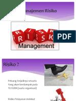 Manajemen Risiko Pelayanan Ppt