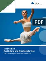 Tanzmedizin- Ausbildung und Arbeitsplatz Tanz