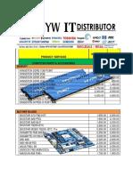Pricelist PRODUCT (1)