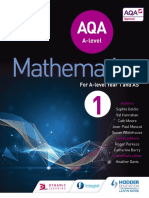 Sophie Goldie, Val Hanrahan, Jean-Paul Muscat, Roger Porkess, Susan Whitehouse and MEI - AQA a Level Mathematics for a Level Year 1 and as-Hodder (2017)
