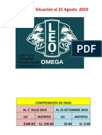 Informe de Situación al 25 Setiembre 2019